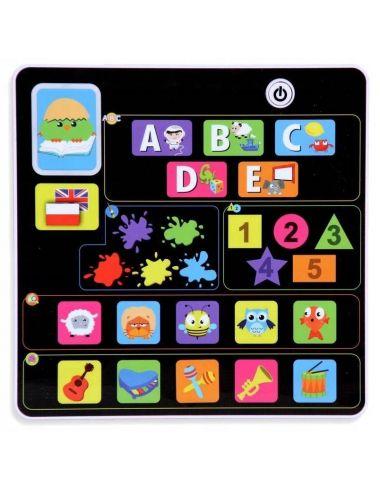 Smily Play Tablet Edukacyjny Interaktywny Quizy PL/EN 0823