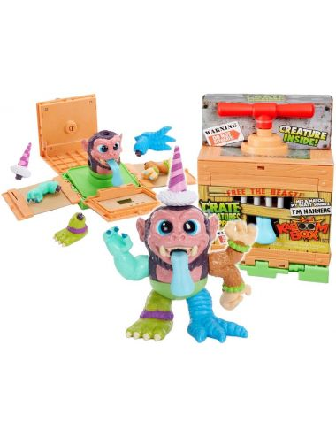 Crate Creatures KaBOOM Box Nanners Figurka Interaktywna 557227