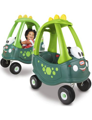 Little Tikes Cozy Coupe Dino Jeździk Pchacz Samochód Zielony 174100
