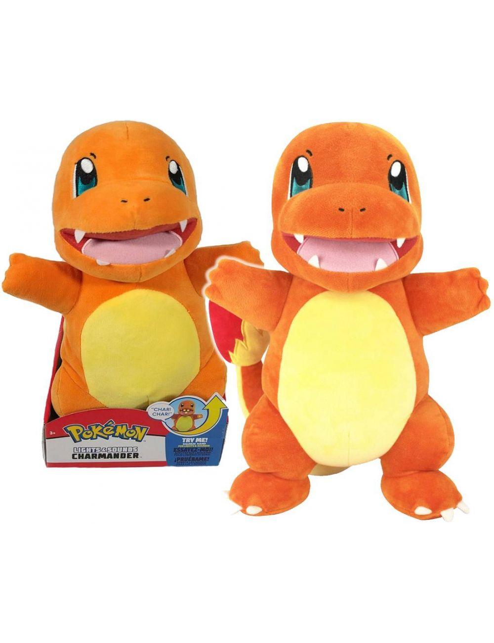 Pokemon Pluszak Interaktywny Charmander