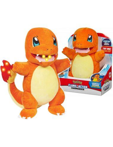 Pokemon Charmander Flame Action Pluszak Interaktywny 97770