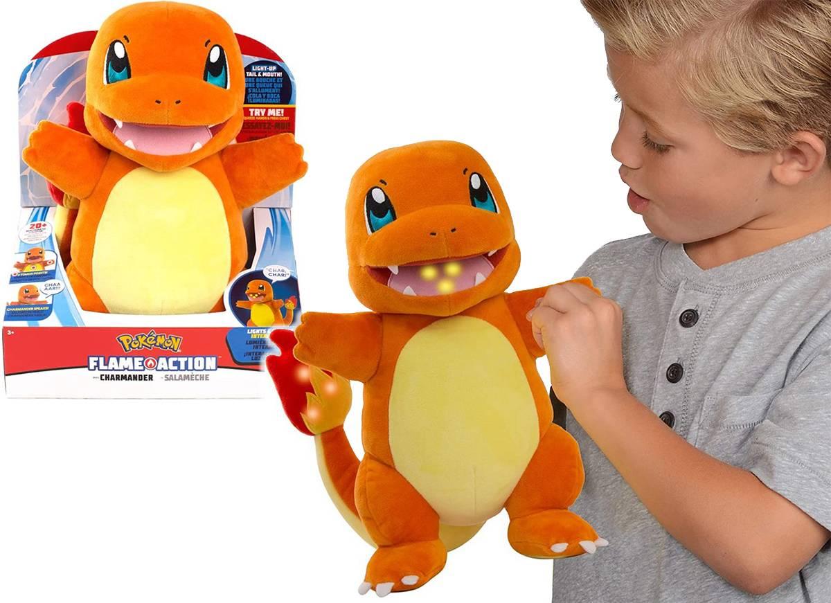 Pokemon Charmander Flame Action 97770