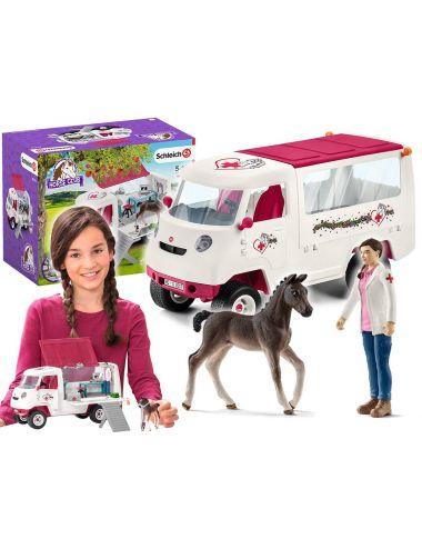 Schleich 42370 Mobilna Lecznica dla Zwierząt Horse Club