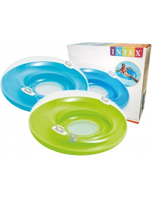 INTEX Koło do pływania z oparciem 119 cm