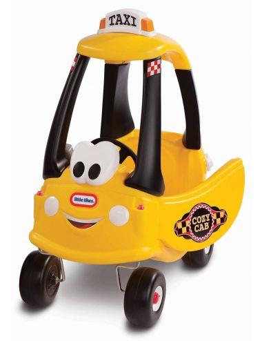 Cozy Taxi żółte jeździk pchacz samochód Little Tikes