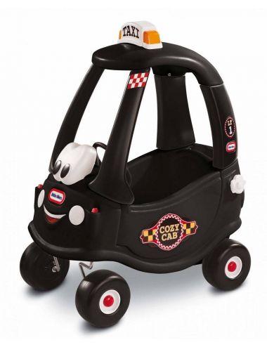 Cozy Taxi czarne jeździk pchacz samochód Little Tikes