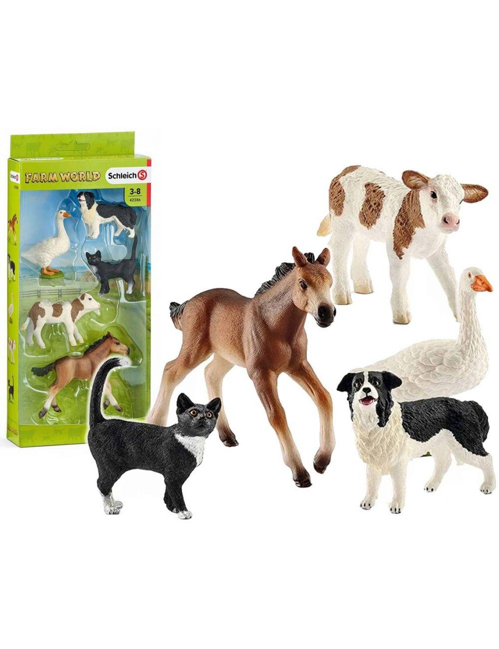 Schleich 42386 zwierzęta Gospodarskie zestaw