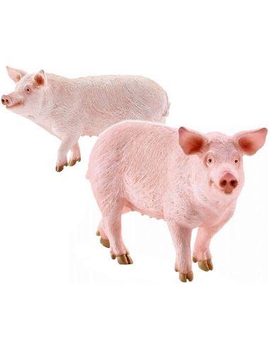 Schleich 13782 Świnia Domowa Figurka Farm World