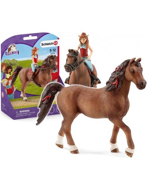 Schleich 42514 Hannah i Cayenne Horse Club