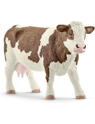 Schleich 13801 krowa rasy Simentalskiej