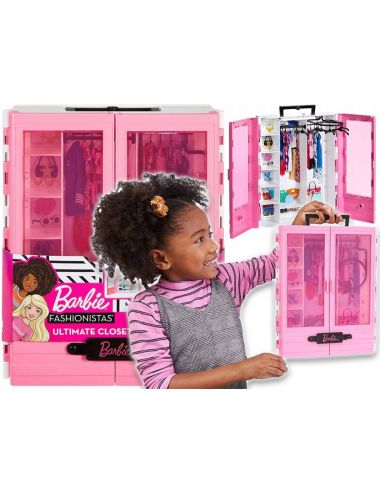 Barbie Garderoba Szafa na Ubranka Fashionistas GBK11 Mattel