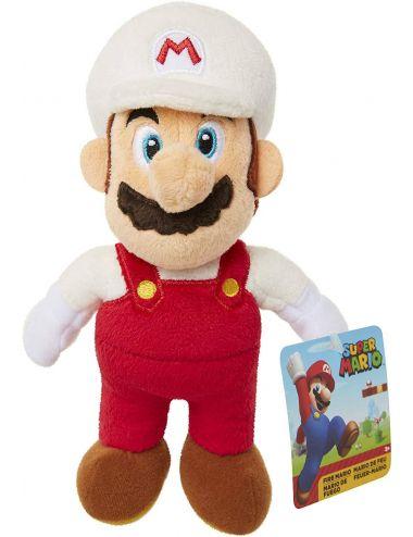 Super Mario Fire Mario pluszowa maskotka 20 cm