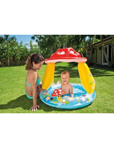 INTEX basenik Grzybek 102x89cm dla dziecka pompowany