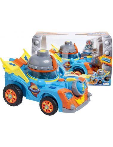 Super Zings Things Pojazd Kazoom Racer i Figurka Kid Kazoom