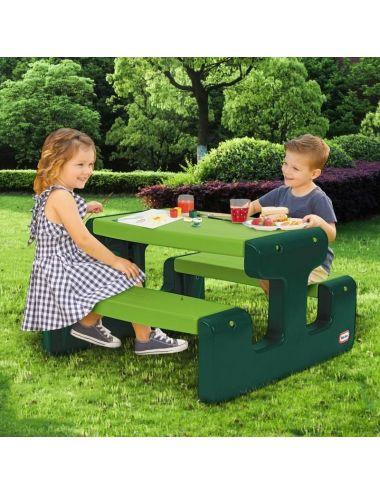 Little Tikes Stolik Piknikowy Duży Stół Go Green 174131
