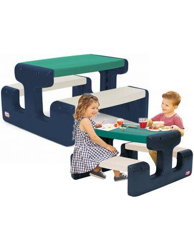 Little Tikes Stolik Piknikowy Stół Dla Dzieci Niebiesko Zielony 174063
