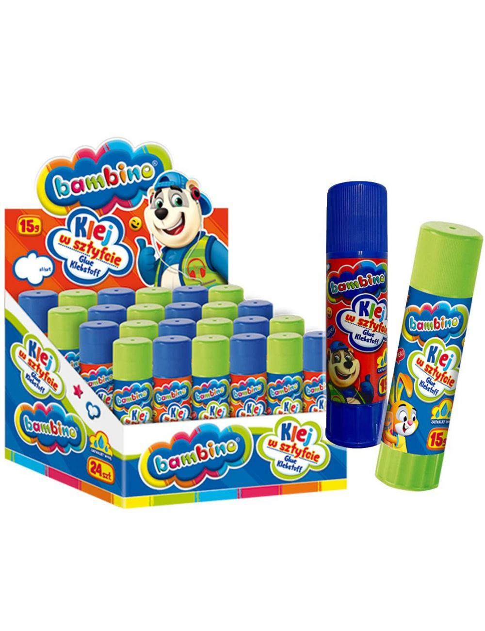 BAMBINO Klej w Sztyfcie dla dzieci Mini ZOO 15g 5003073