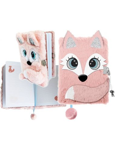 Pamiętnik z Kłódką 3D Włochacz FOX A5 35038