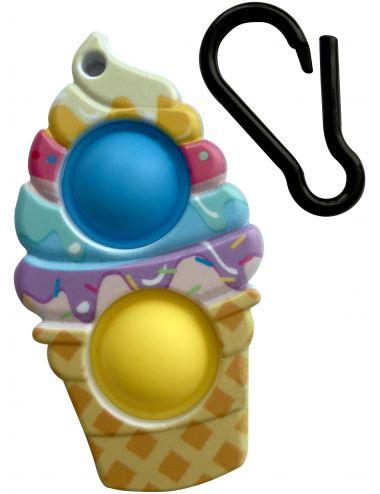 Pop It Push Bubble Breloczek Fast Food Zabawka Sensoryczna 88991
