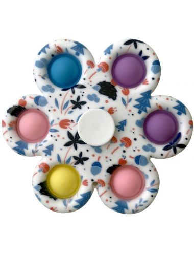 Pop It Fidget Spinner Zabawka Antystresowa Sensoryczna 04492