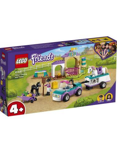 LEGO Friends Szkółka jeździecka i przyczepa dla konia 41441