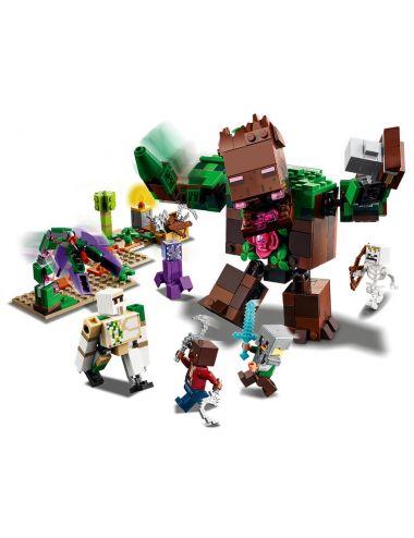 LEGO MINECRAFT Postrach Dżungli Klocki 21176