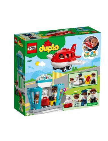 LEGO Duplo Samolot i Lotnisko 10961