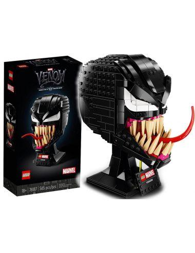 LEGO Marvel Venom Głowa Spider Man 76187