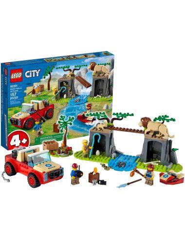 LEGO City Terenówka Ratowników Dzikich Zwierząt 60301