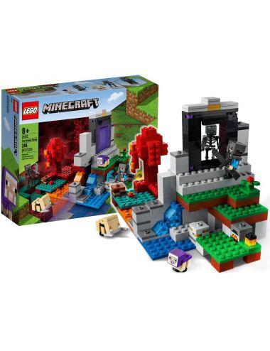 LEGO MINECRAFT Zniszczony Portal Klocki Zestaw 21172