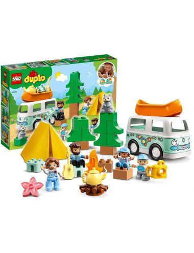 LEGO Duplo Rodzinne Biwakowanie Klocki 10946