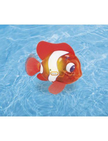 Little Tikes PŁYWAJĄCA RYBKA Nemo Flicker Fish Ryba Czerwona