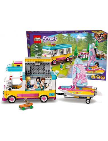 LEGO Friends Leśny Mikrobus Kempingowy i Żaglówka 41681