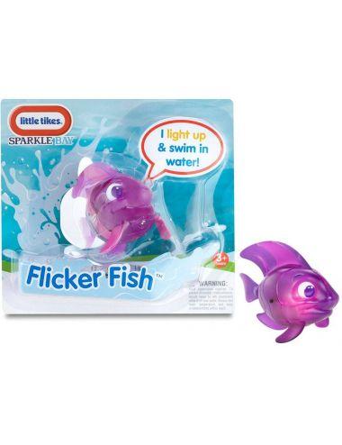 LITTLE TIKES Pływająca Rybka Flicker Fish Fioletowa