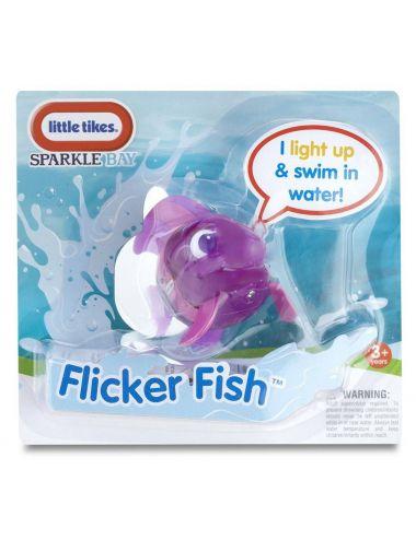 Little Tikes PŁYWAJĄCA RYBKA Flicker Fish Ryba Fioletowa