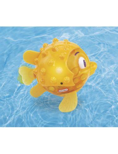Little Tikes PŁYWAJĄCA RYBKA Flicker Fish Ryba Żółta