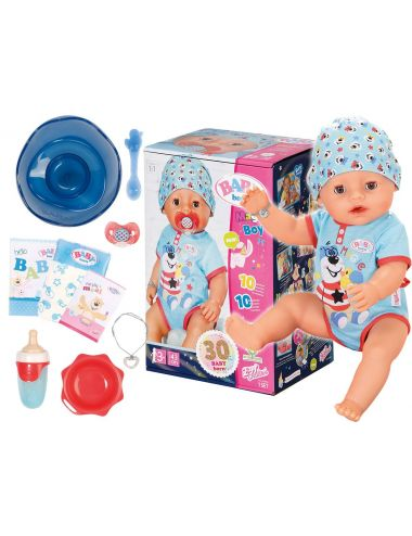 Baby Born Lalka Interaktywna Magic Boy Chłopiec 43cm 827963