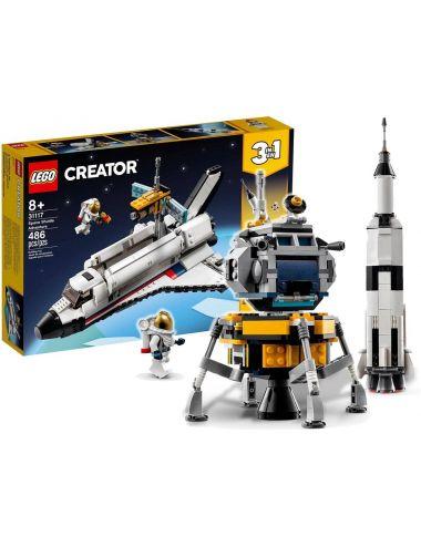 LEGO Creator Przygoda w Promie Kosmicznym 3w1 31117