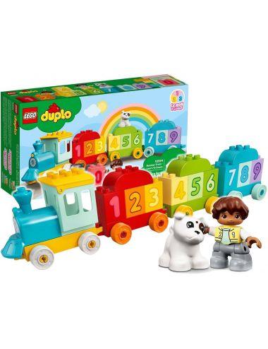 LEGO Duplo Pociąg z Cyferkami Nauka Liczenia Klocki 10954