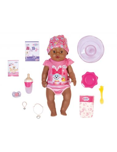 Baby Born Lalka Interaktywna Magic Boy Dziewczynka 43cm 827970