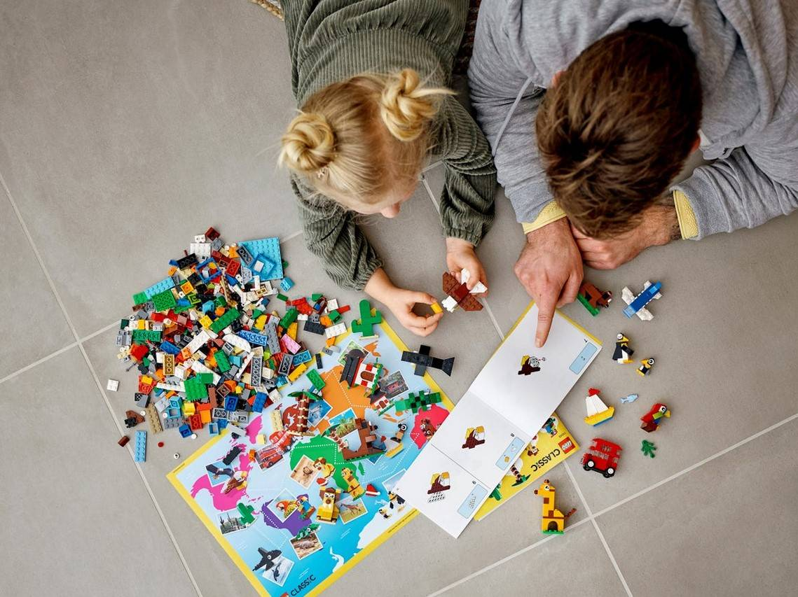 LEGO Classic Dookola swiata klocki zestaw 11015