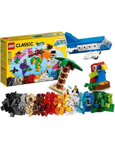 LEGO Classic Dookoła Świata Klocki Zestaw 11015