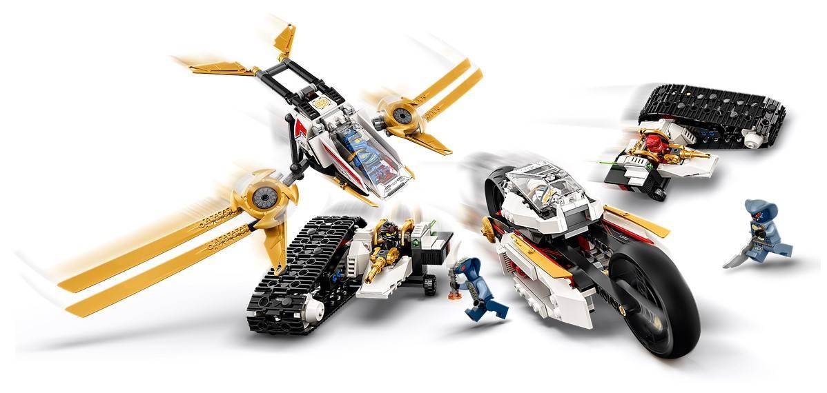 LEGO NINJAGO Pojazd Ultradzwiekowy Klocki 71739