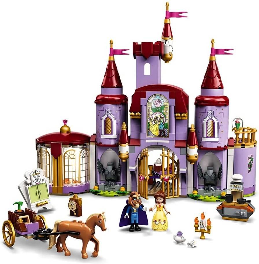 LEGO Disney Zamek Belli i Bestii 43196