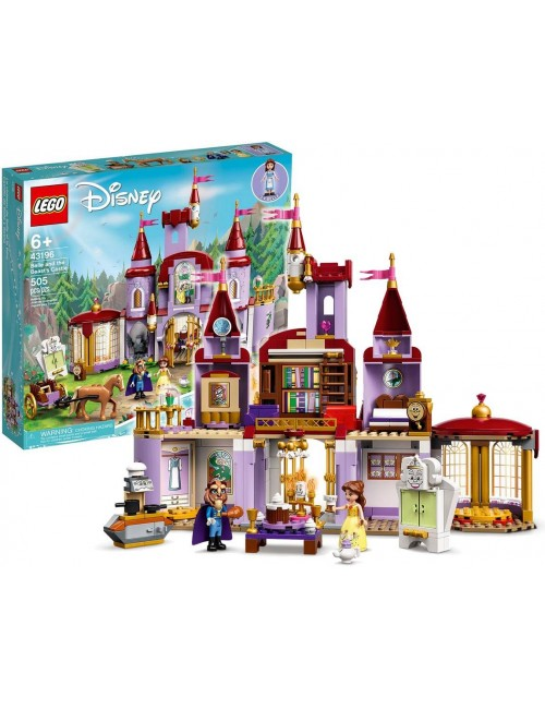 LEGO Disney Princess Zamek Belli i Bestii Klocki 43196