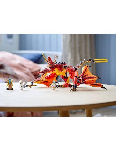 LEGO NINJAGO Atak Smoka Ognia Klocki 71753