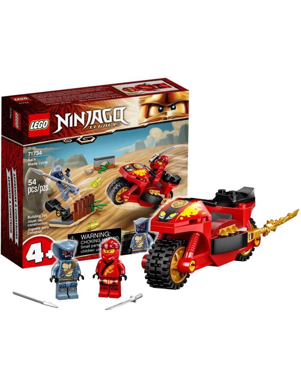 LEGO NINJAGO Motocykl Kaia Klocki 71734
