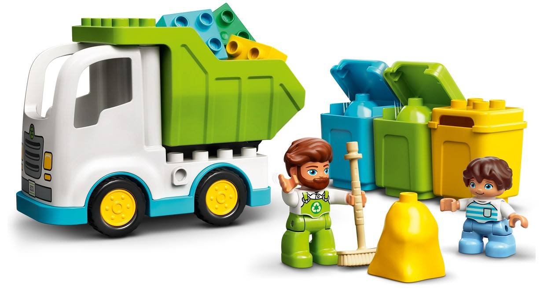 LEGO Duplo Smieciarka i recykling 10945