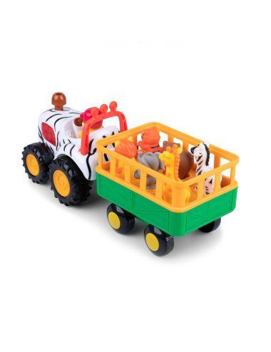 Dumel Discovery Traktor Safari Zabawka Interaktywna 29652