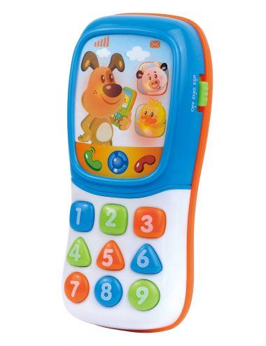 Dumel Discovery Telefon Zwierzątka PL ENG 42667